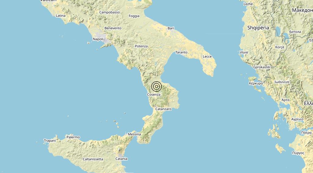 Terremoto 11-10-2021